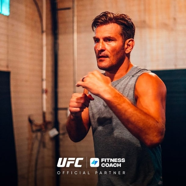 Stipe Miocic on his fighting stance